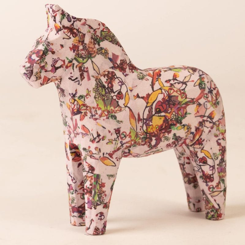 Dala horse EDELWEISS HELENA (full)